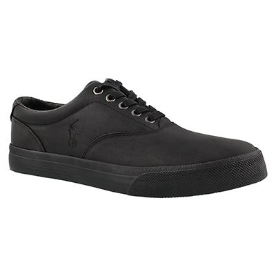 Polo Men's VAUGHN black/black lace up sneakers