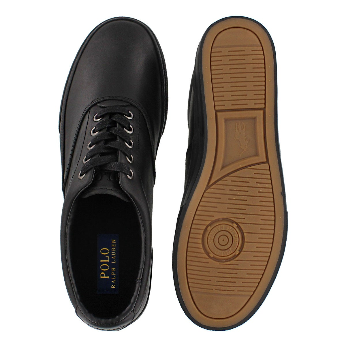Mns Vaughn blk/blk lace up sneaker