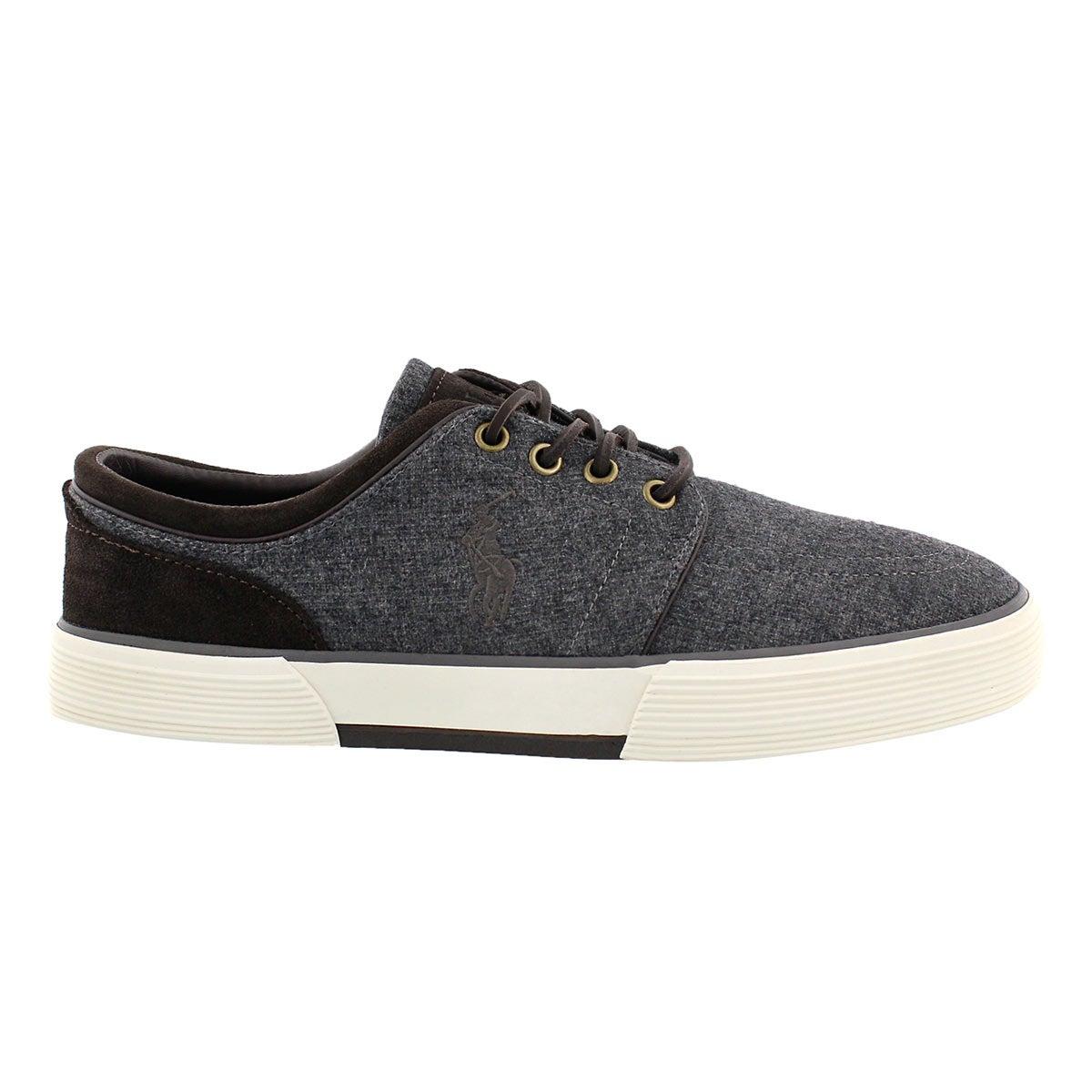 Mns Faxon Low gry/brn lace up sneaker
