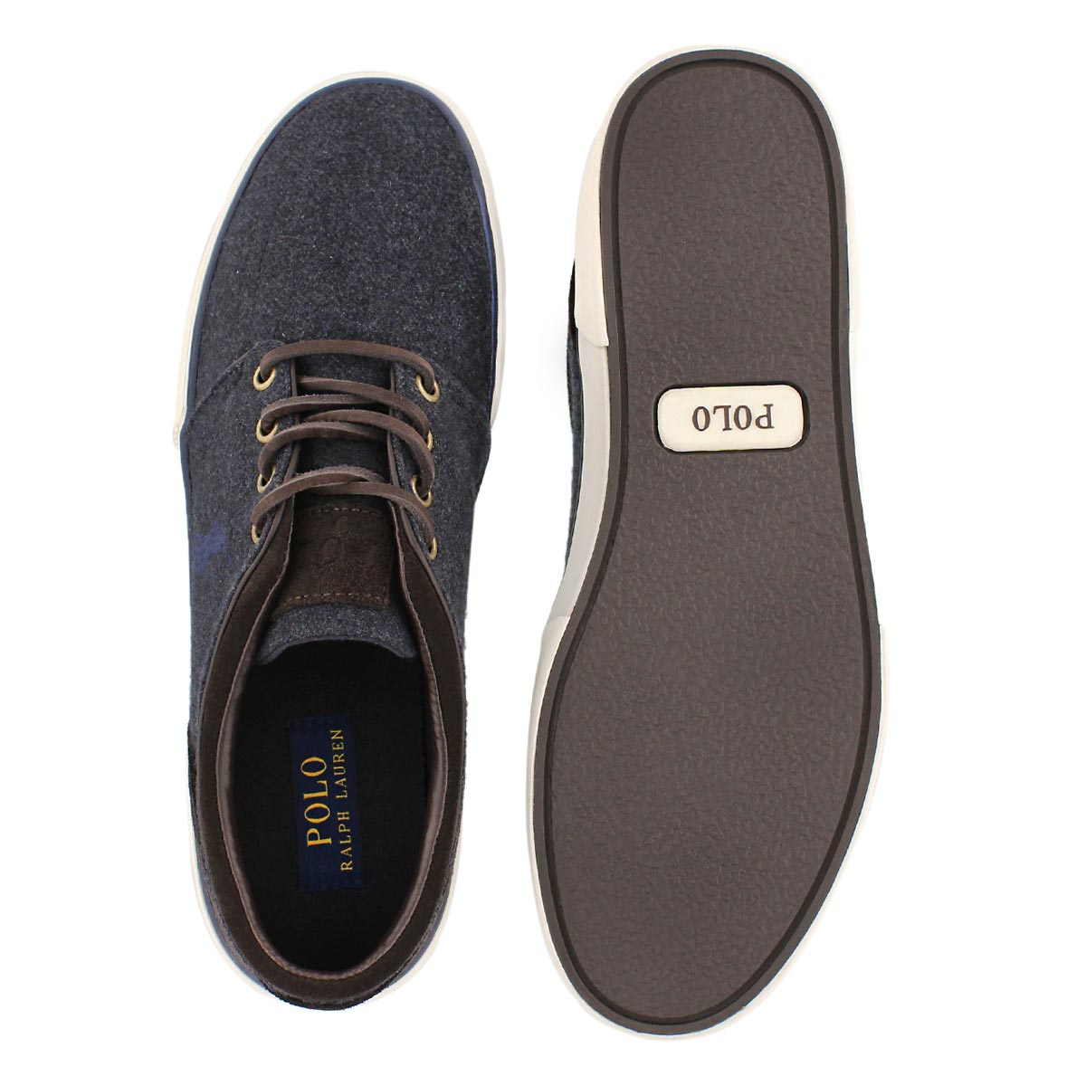 Mns Faxon Low nvy/brn lace up sneaker