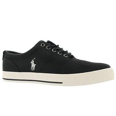 Mns Vaughn polo black canvas sneaker