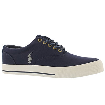 Polo Men's VAUGHN newport navy canvas sneakers