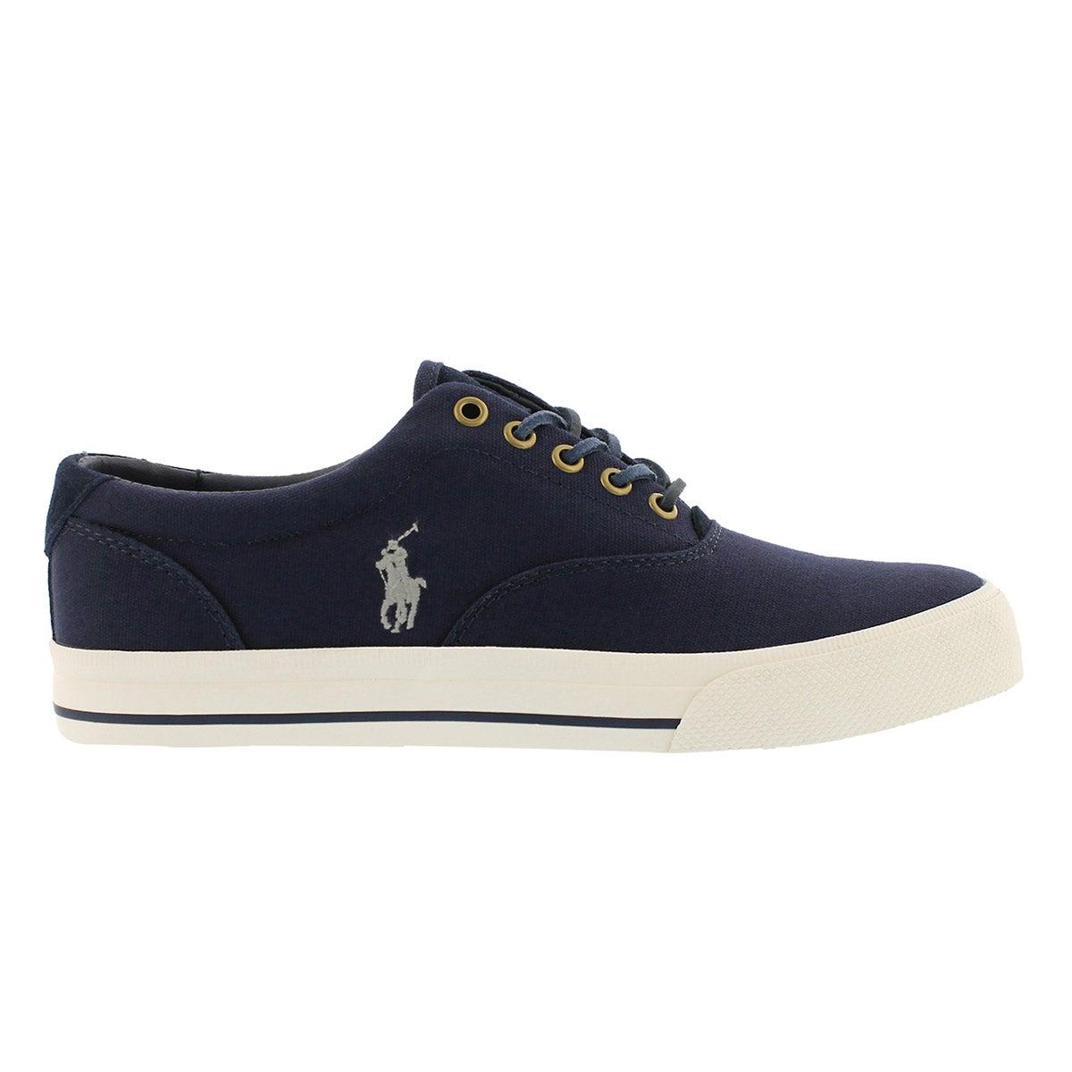 Mns Vaughn newport navy canvas sneaker