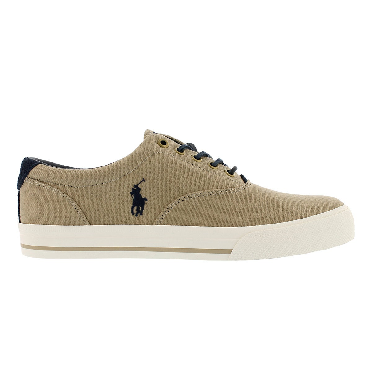 Mns Vaughn boating khaki canvas sneaker