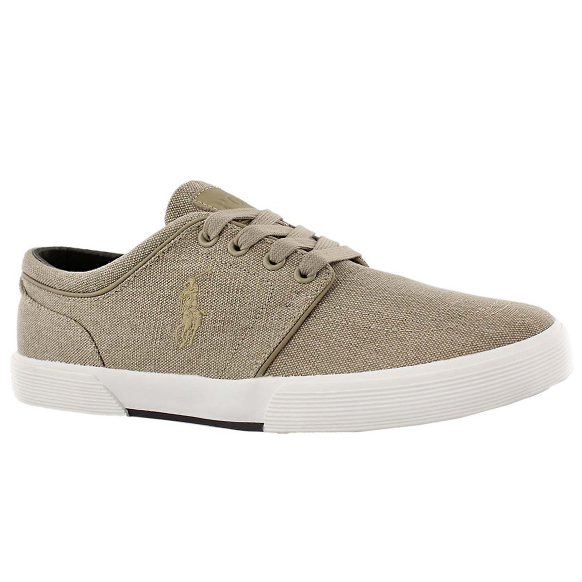 Men's FAXON LOW khaki vintage sneakers