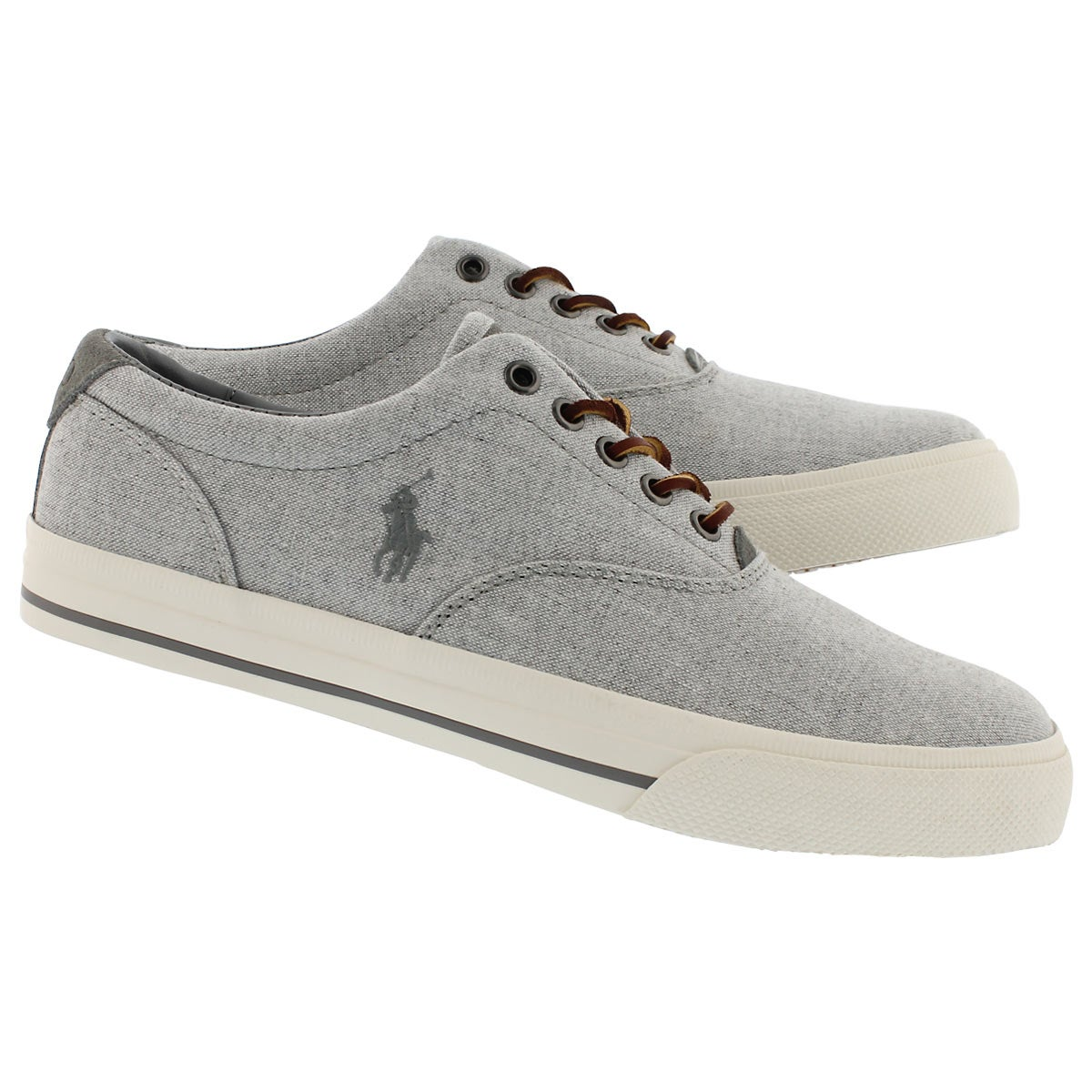 Mns Vaughn grey yarn dyed cnvs sneaker