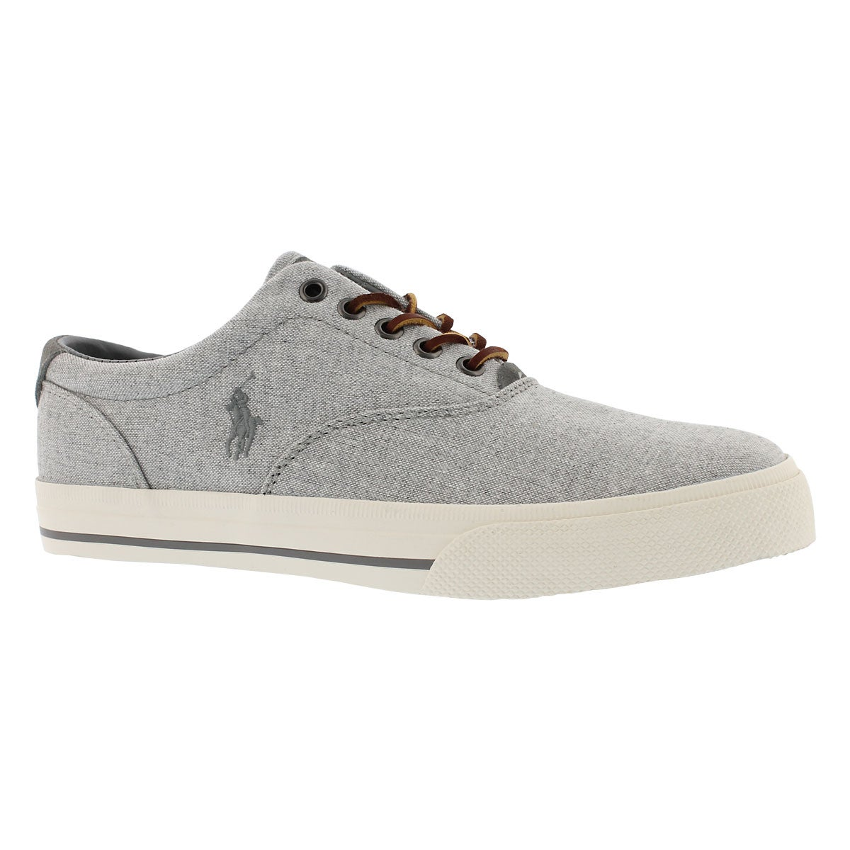 Men's VAUGHN grey yarn dyed canvas sneakers