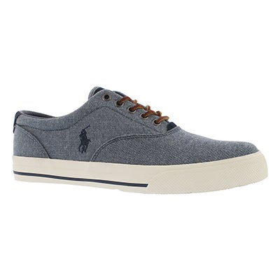 Mns Vaughn blue yarn dyed cnvs sneaker