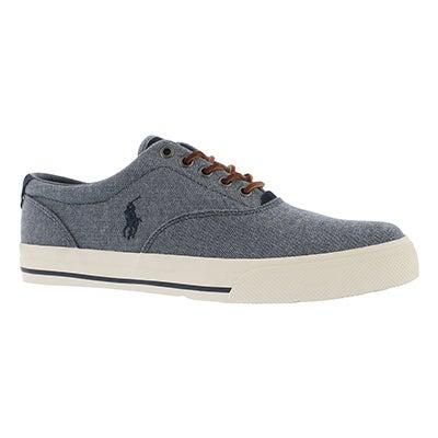 Mns Vaughn blue yarn dyed cnvs sneaker
