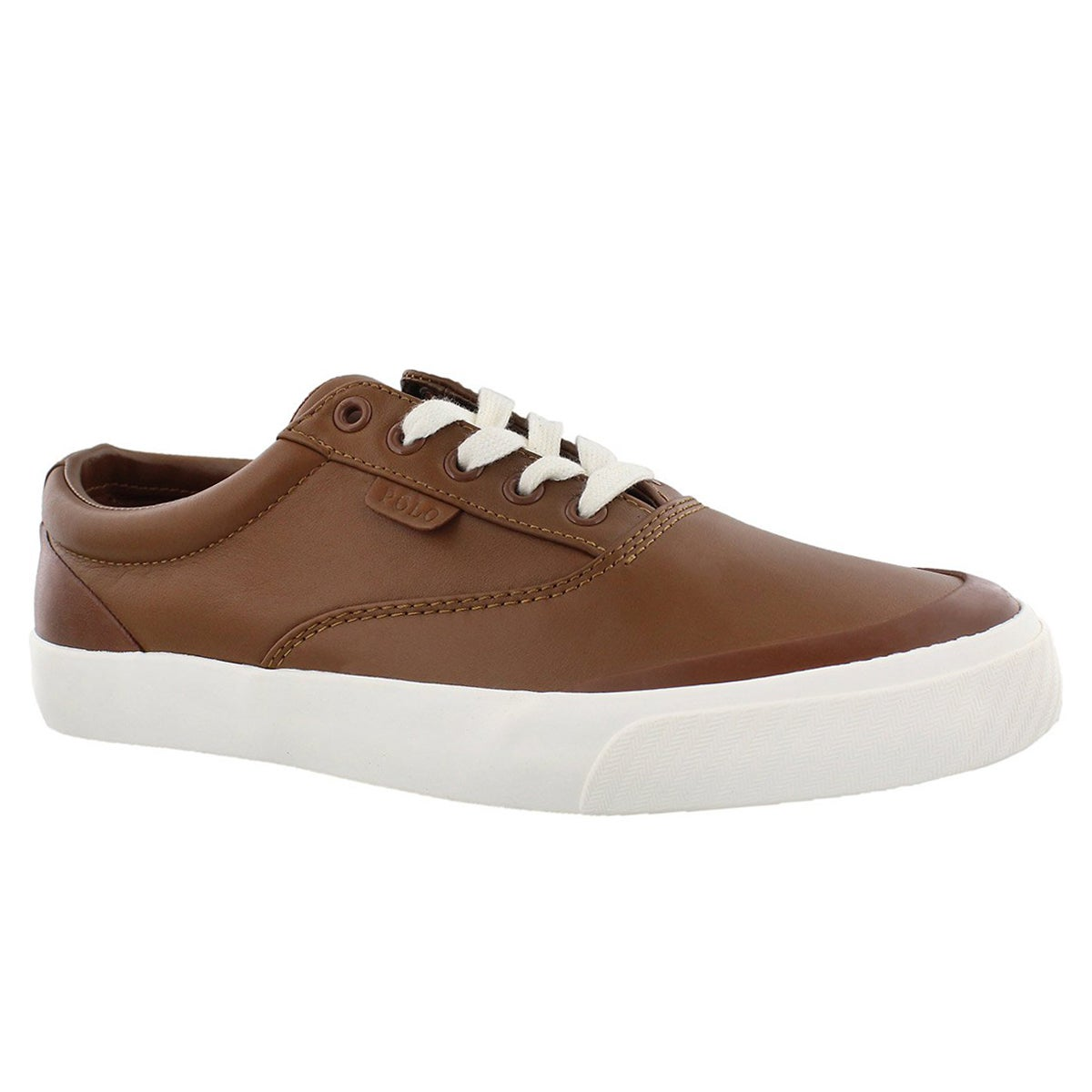 Men's IZZAH deep tan lace up sneakers