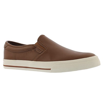 Mns Vaughn Slip On II dk tan casual shoe