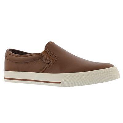 Mns Vaughn Slip On II dk tan casual shoe