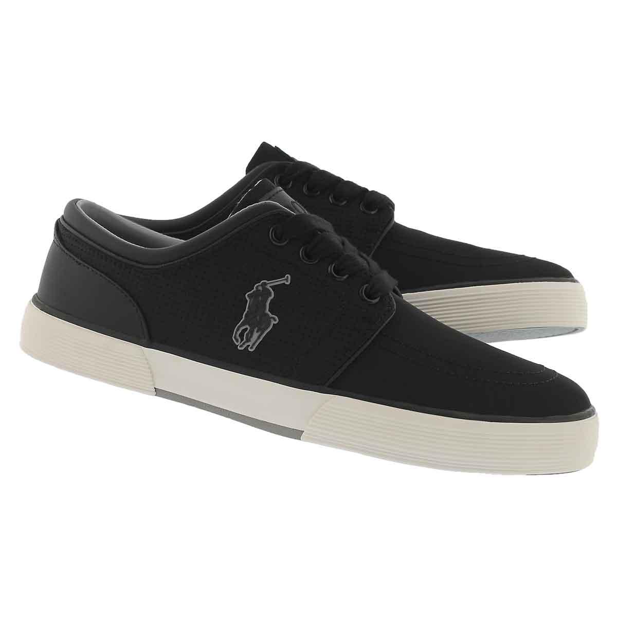Mns Faxon Low black matte sneaker
