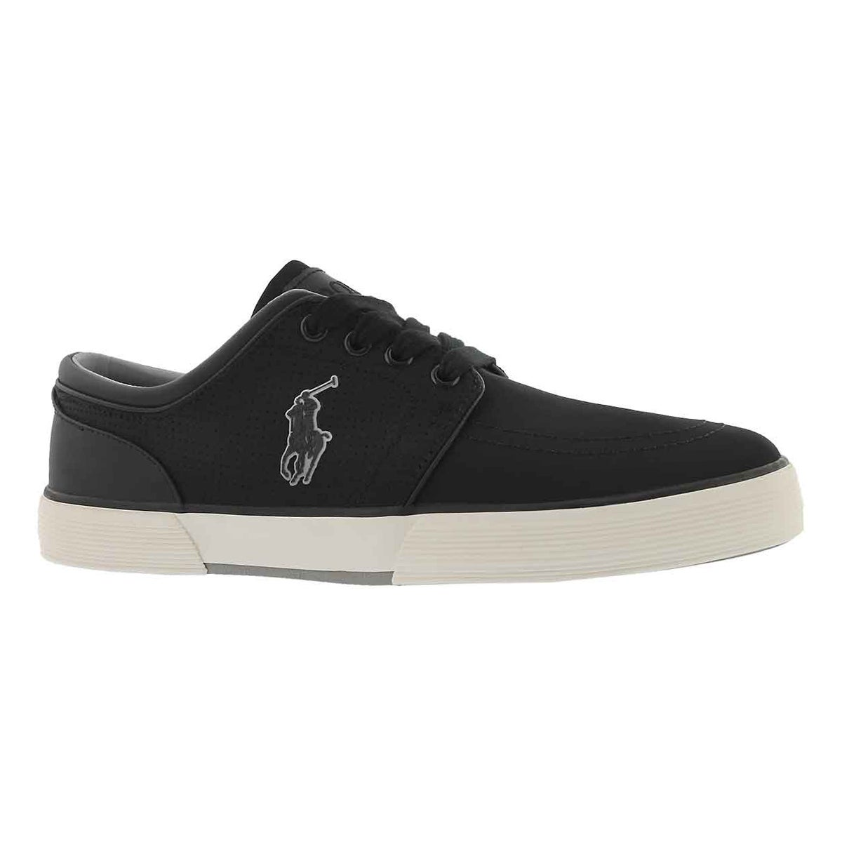 Men's FAXON LOW black matte sneakers
