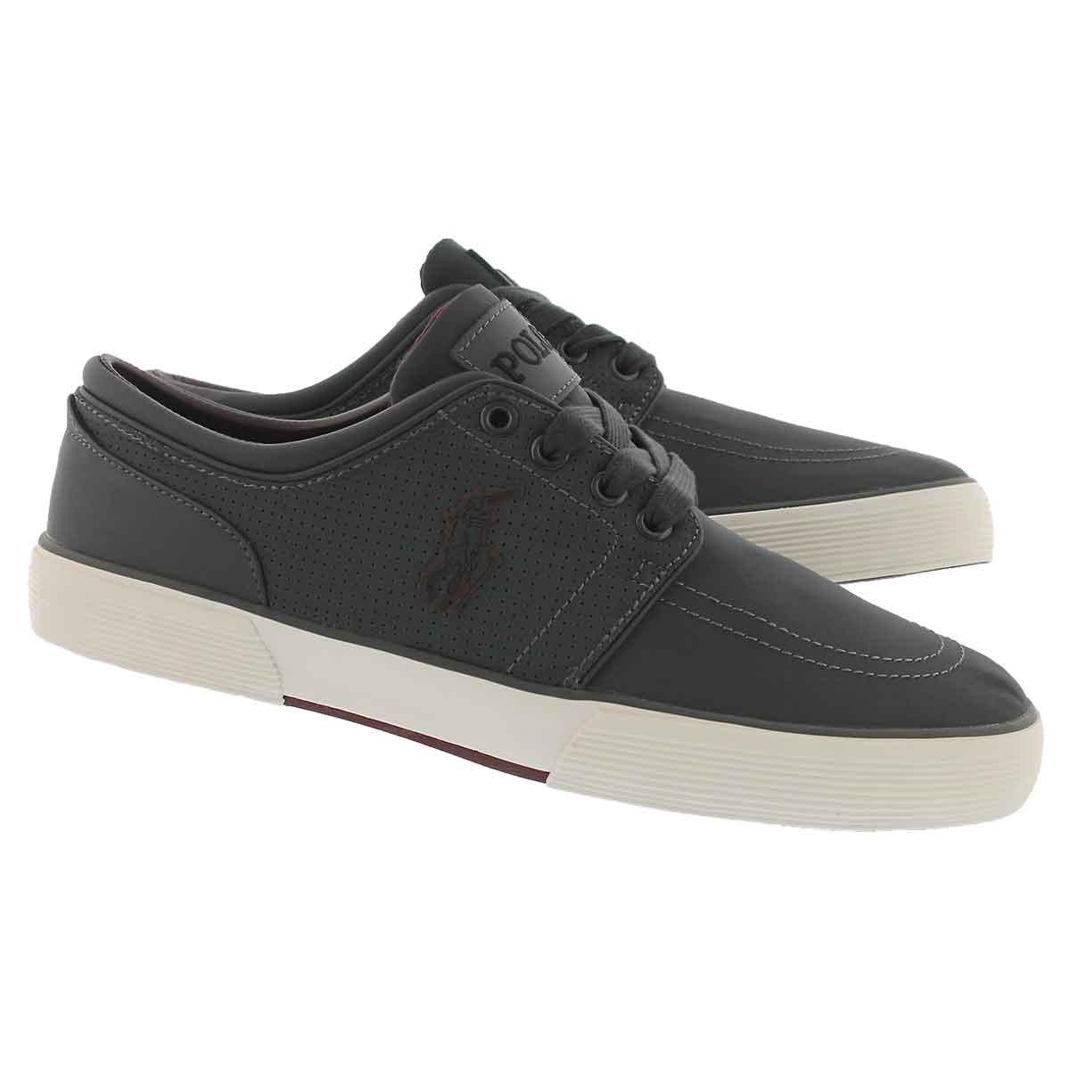 Mns Faxon Low dark grey matte sneaker