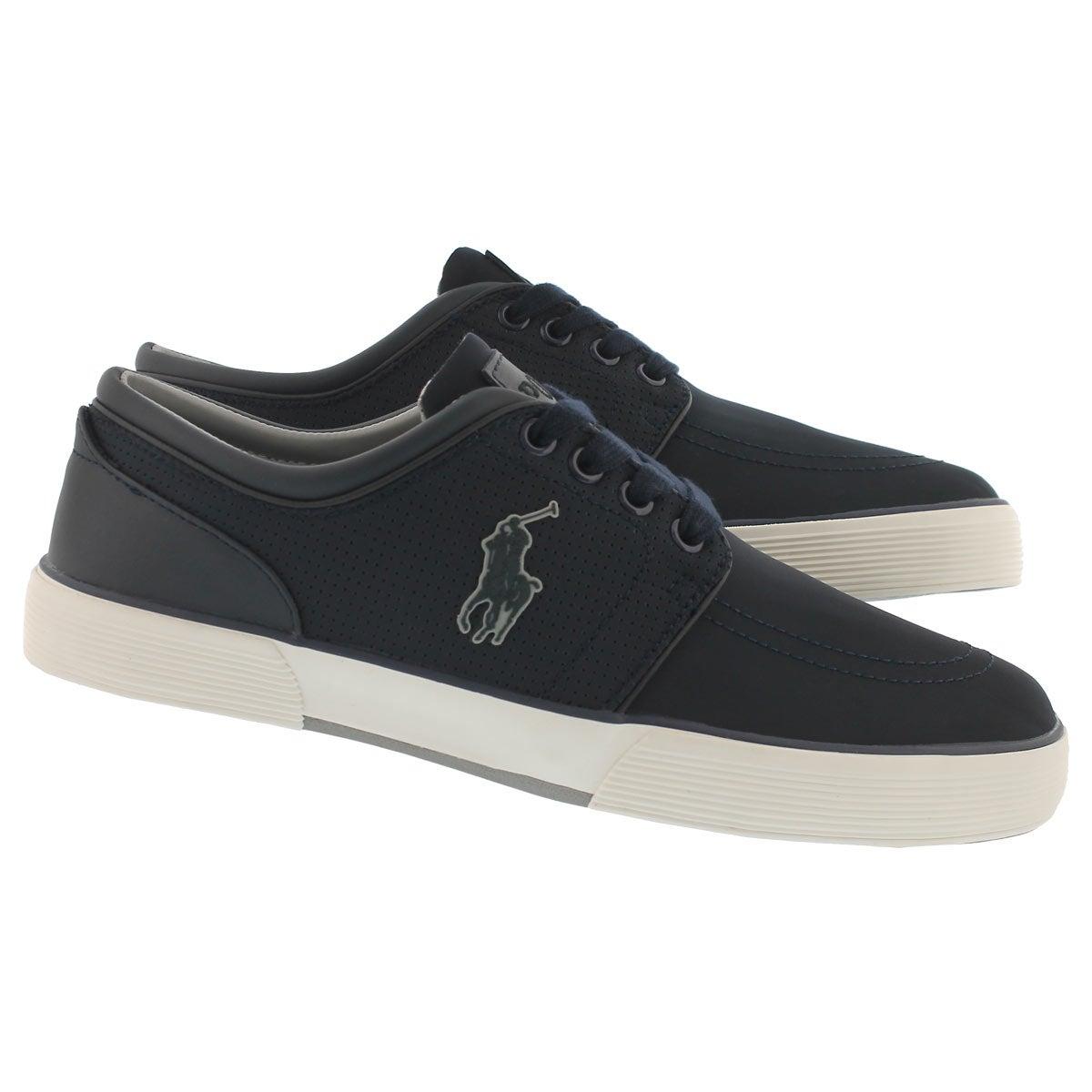 Mns Faxon Low dk navy matte sneaker