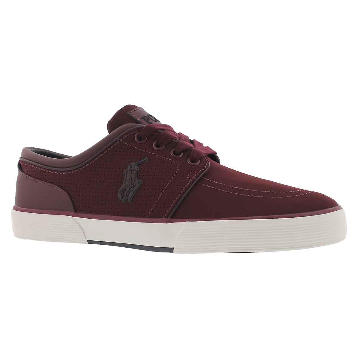 Men's FAXON LOW port matte sneakers