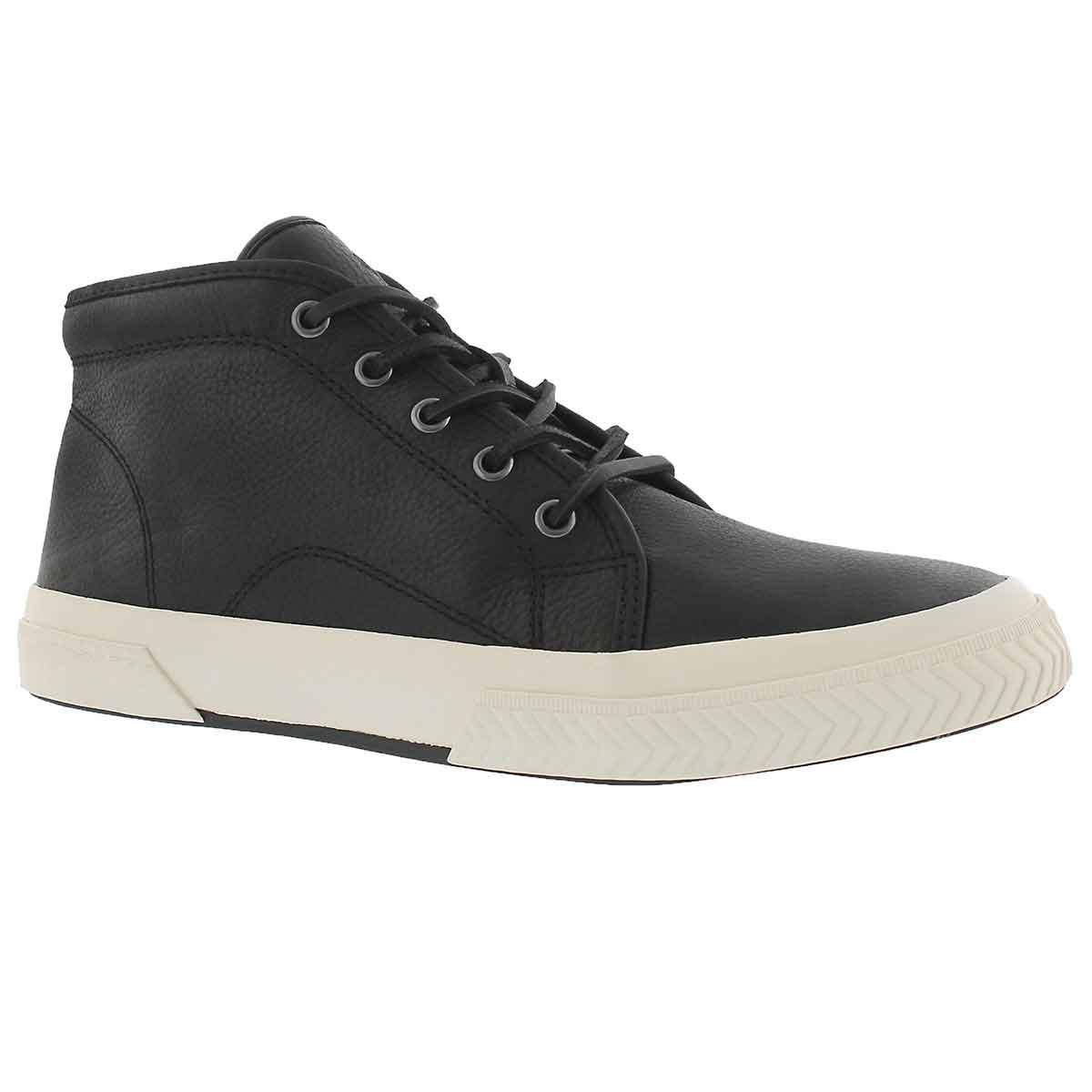 Mns Thurlos black high top sneaker