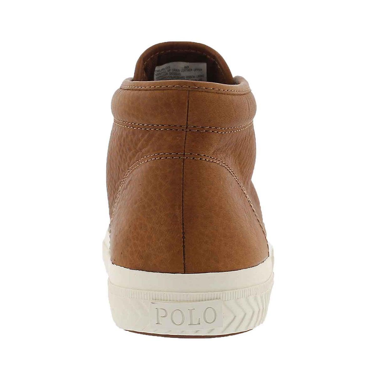 Mns Thurlos tan high top sneaker
