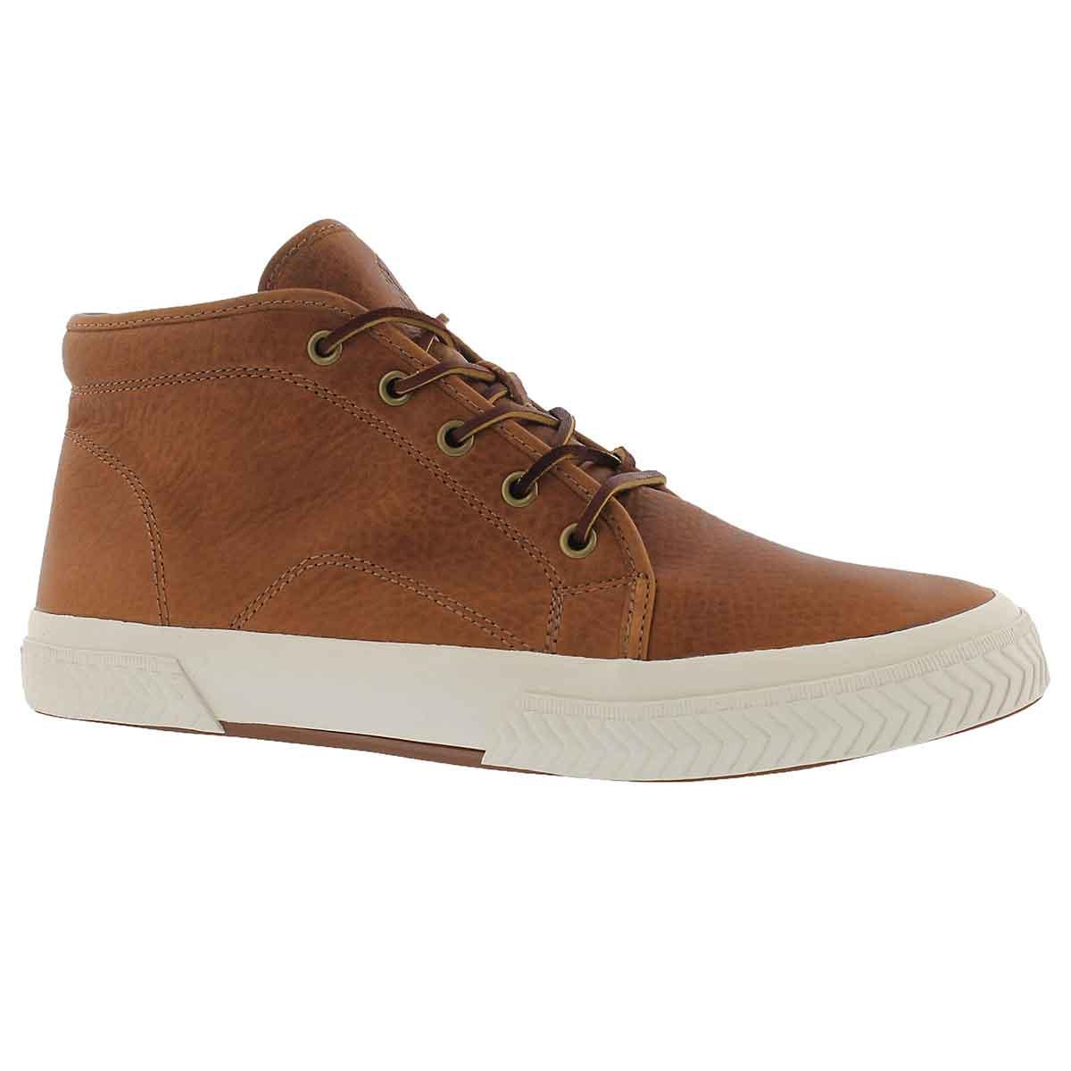 Men's THURLOS tan high top sneakers