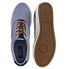 Mns Vaughn blue/indigo canvas sneaker