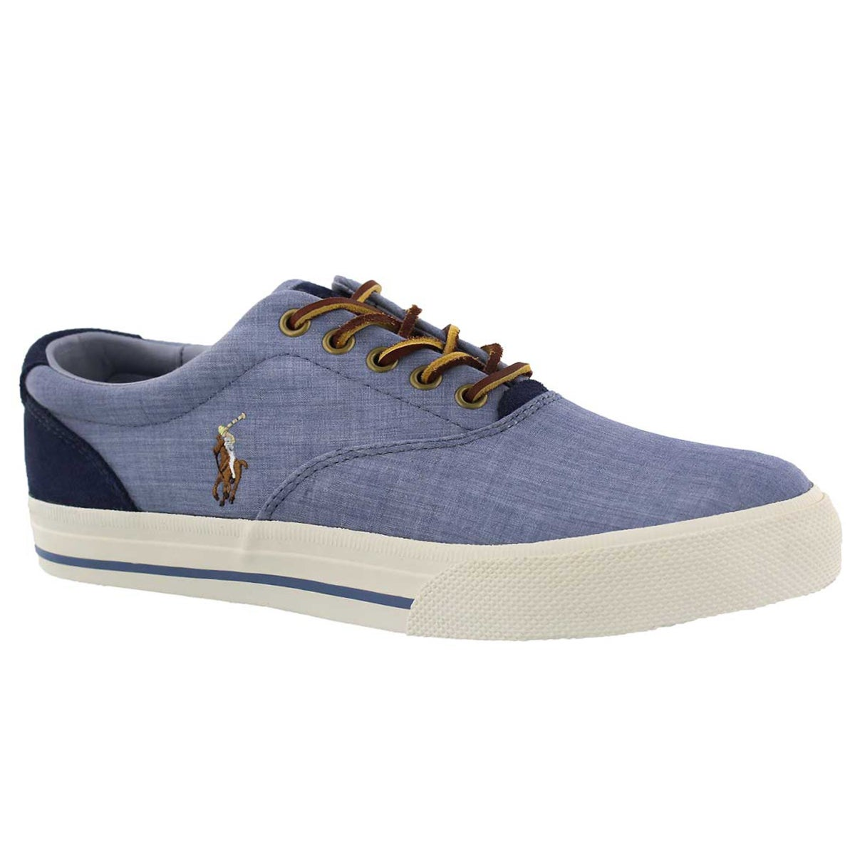 Men's VAUGHN blue/indigo canvas sneakers