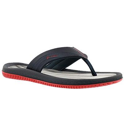 Rider Sandals Men's DUNAS XI black/grey/red flip flops