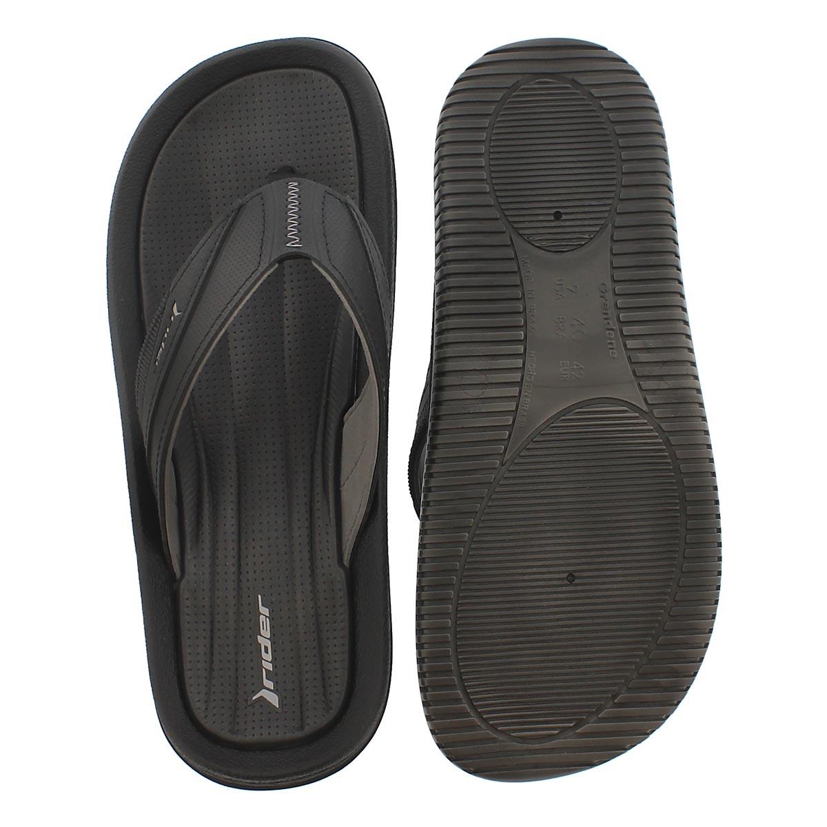 Sandale tong DUNAS XI, noir/gris, hommes