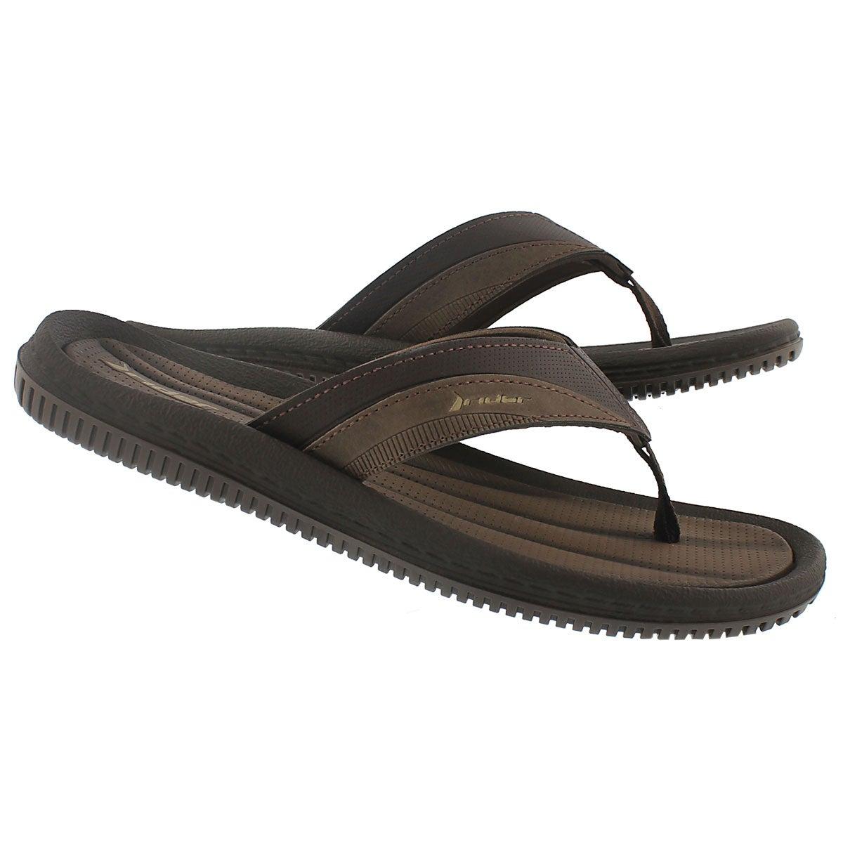 Sandale tong DUNAS XI, brun, hommes
