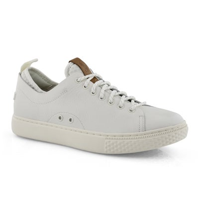 Mns Dunovin white lace up sneaker