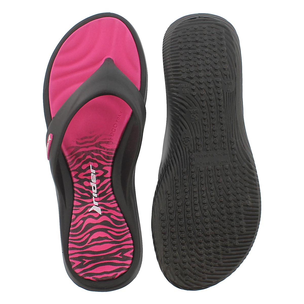 Lds Island VII pink thong sport sandal