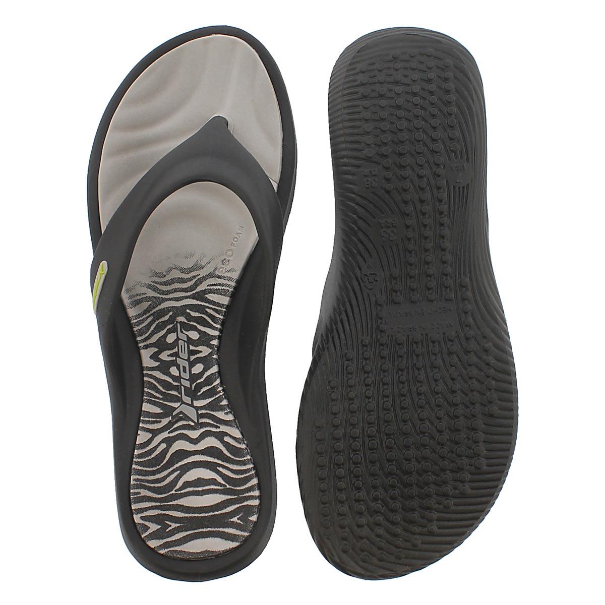 Sandale tong ISLAND VII, gris, femmes
