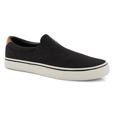 Mns Thompson black slip on sneaker