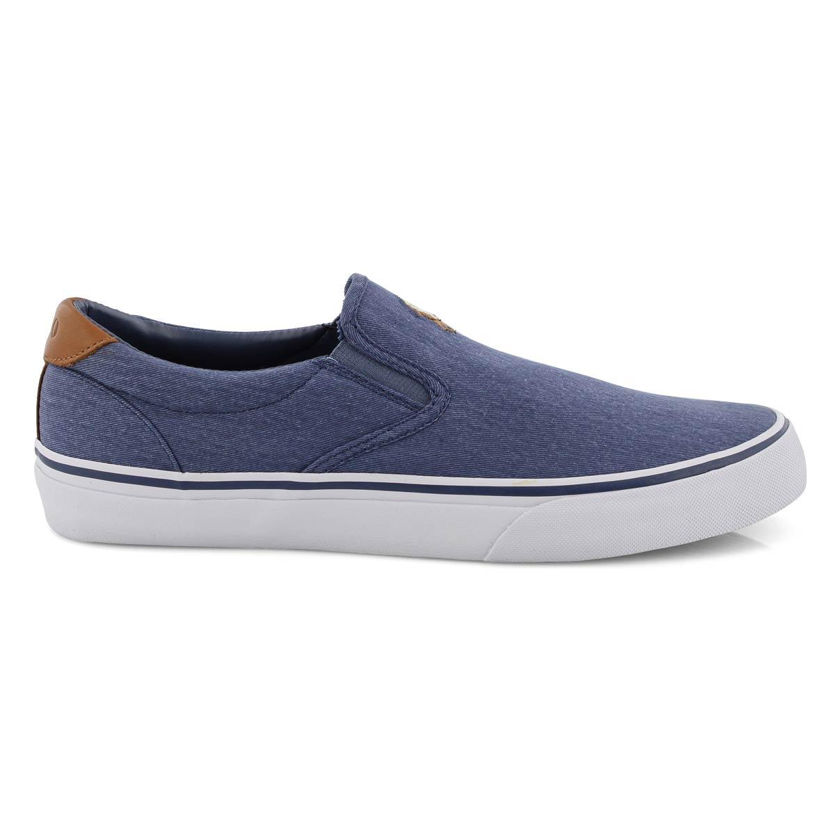 Mns Thompson navy slip on sneaker