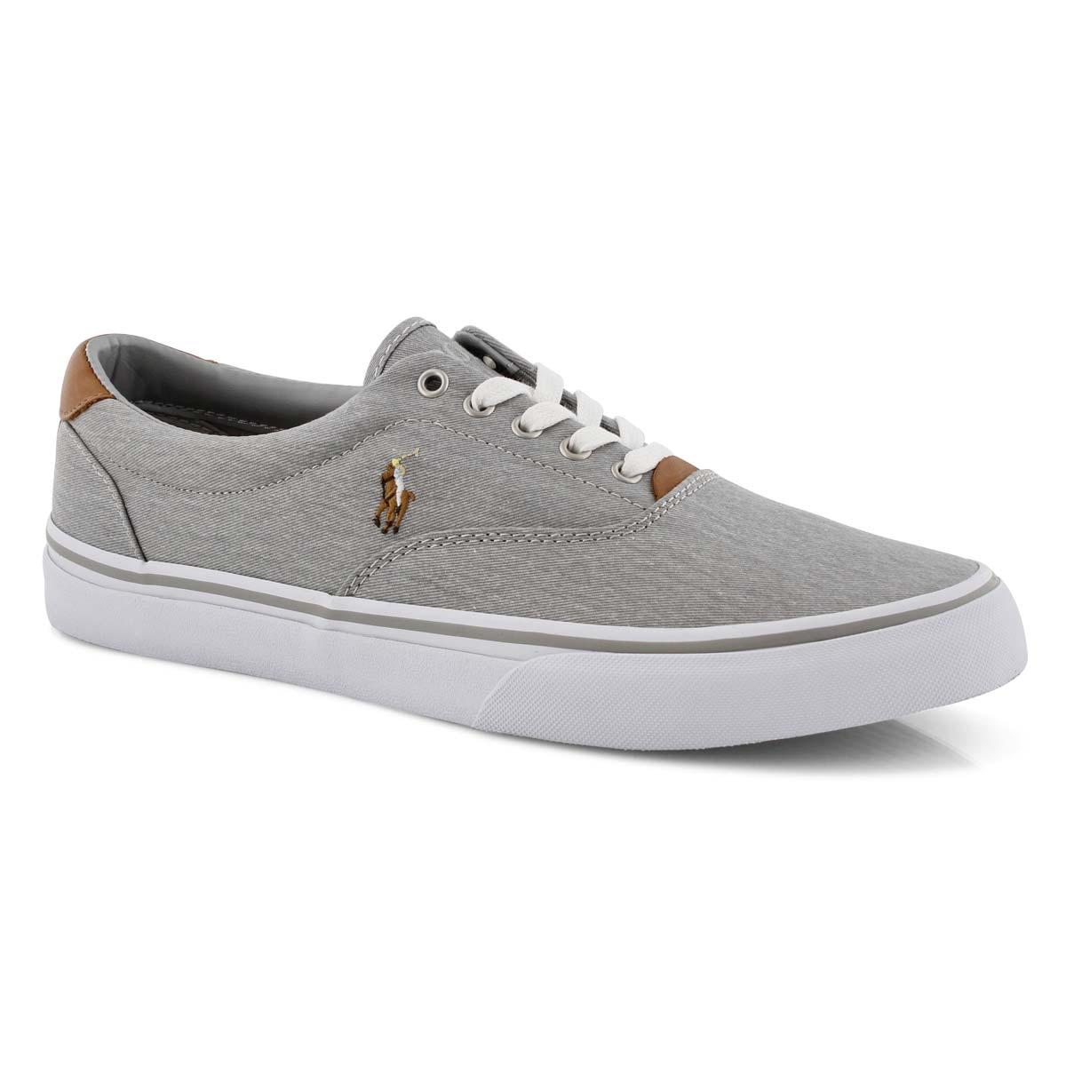 Mns Thorton soft grey lace up sneaker