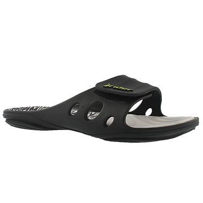 Lds Key VIII grey slide sport sandal