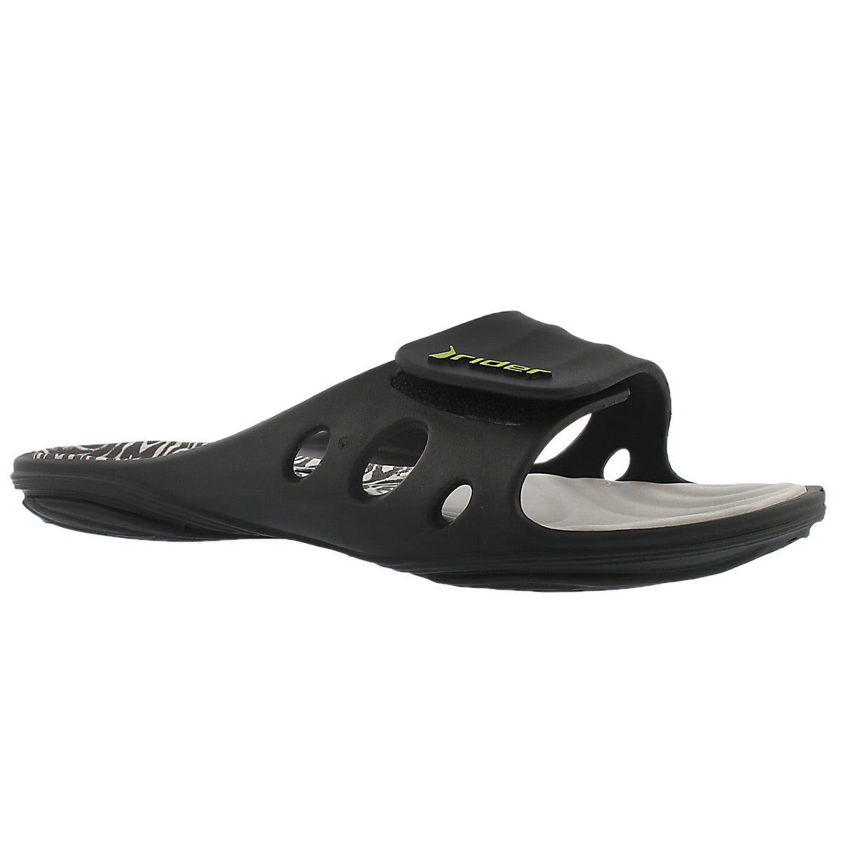 Lds Key VIII grey slide sport sandal