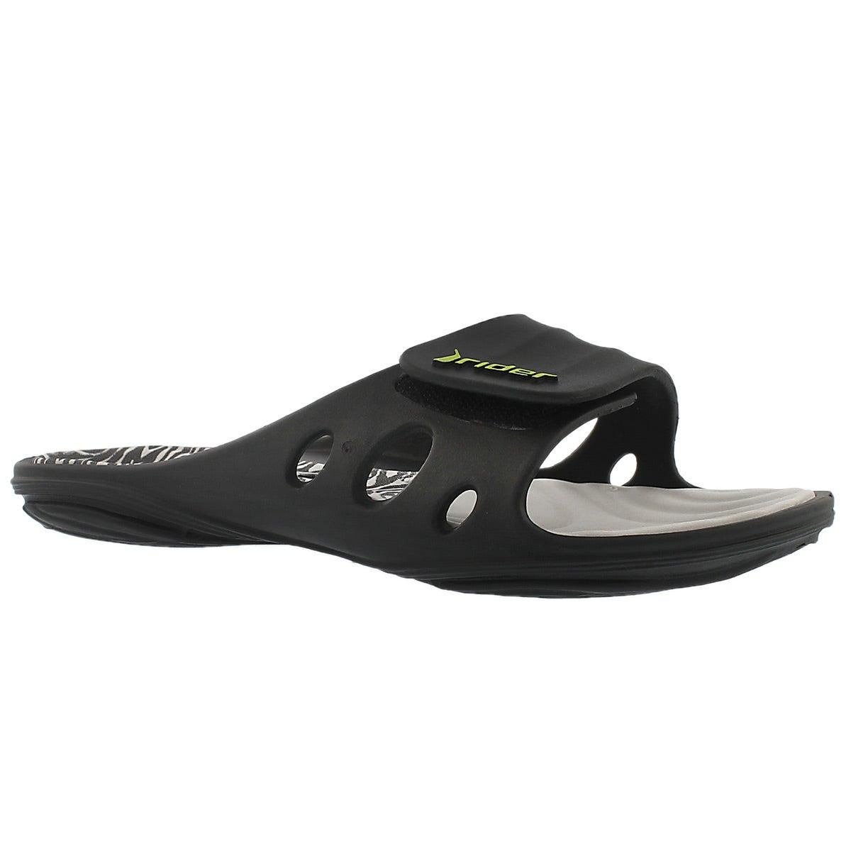 Women's KEY VIII grey slide sport sandals