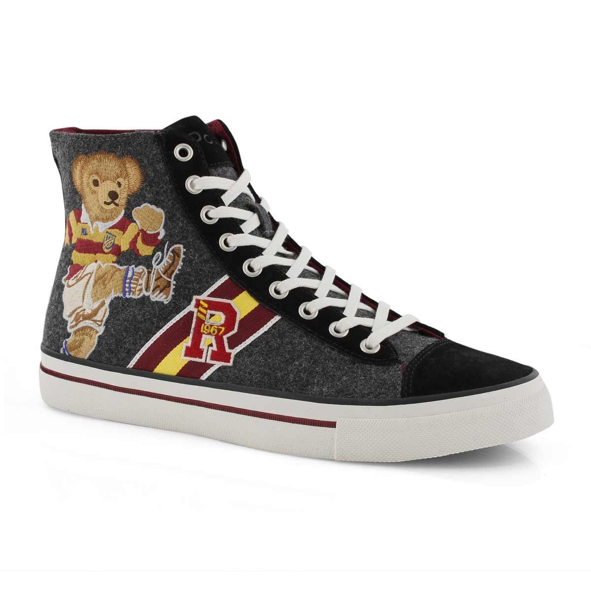 Mns Solomon II grey hi top sneaker