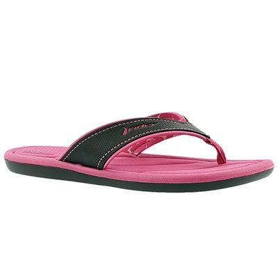 Lds Cloud III pink flip flop sandal