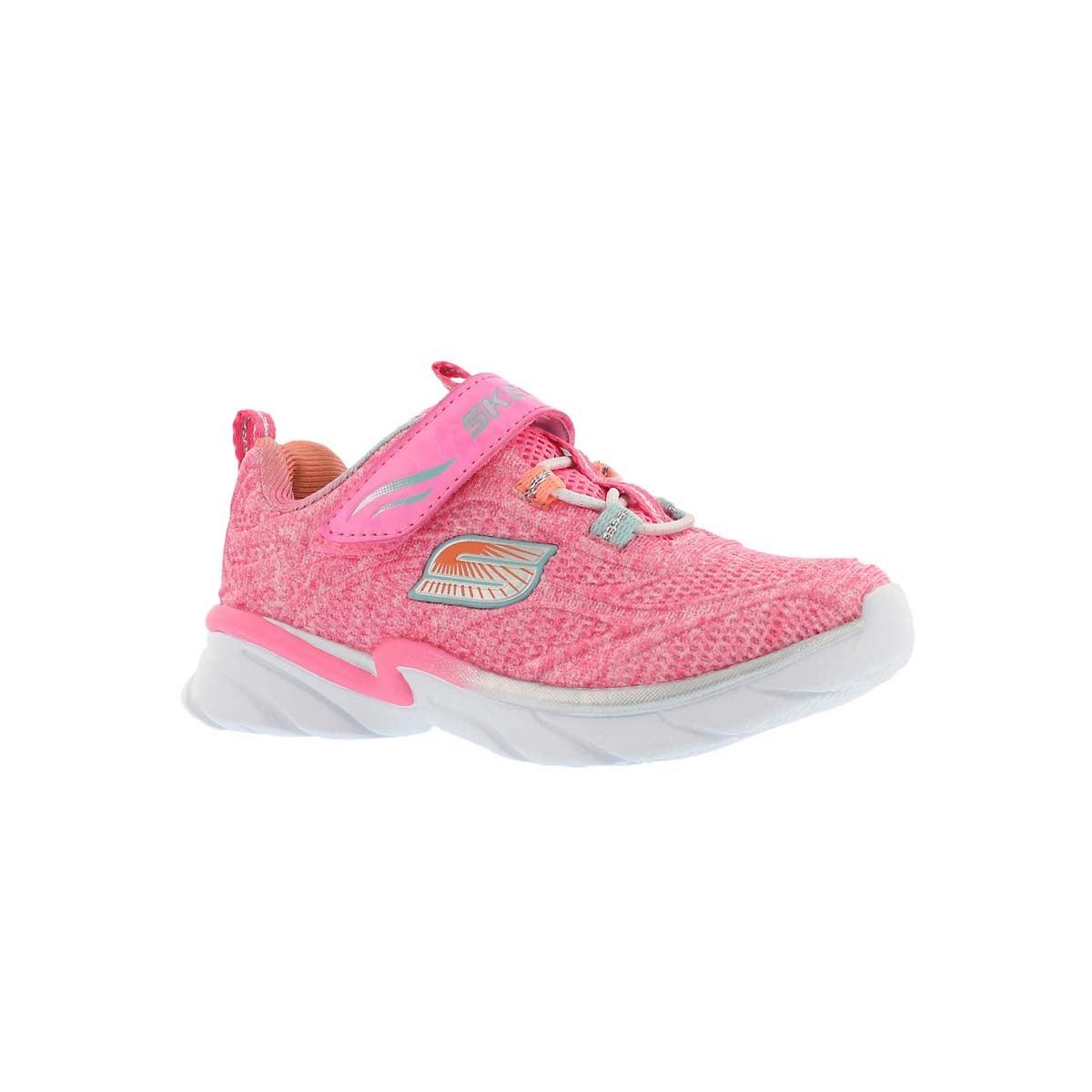 Infants SWIRLY GIRL pink/silver sneaker