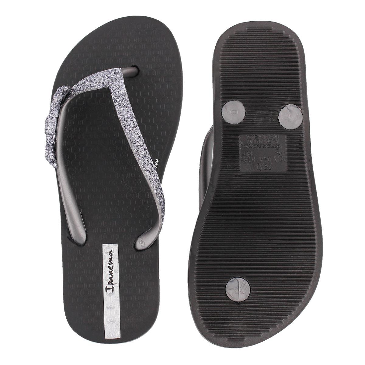 Sandale tong LOLITA III, noir, filles