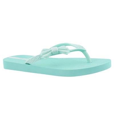 Sandale tong LOLITA III, vert, filles