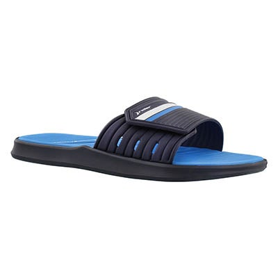 Rider Sandals Men's RAIL black/blue slide sport sandals