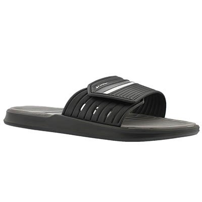 Rider Sandals Men's RAIL  black/grey slide sport sandals