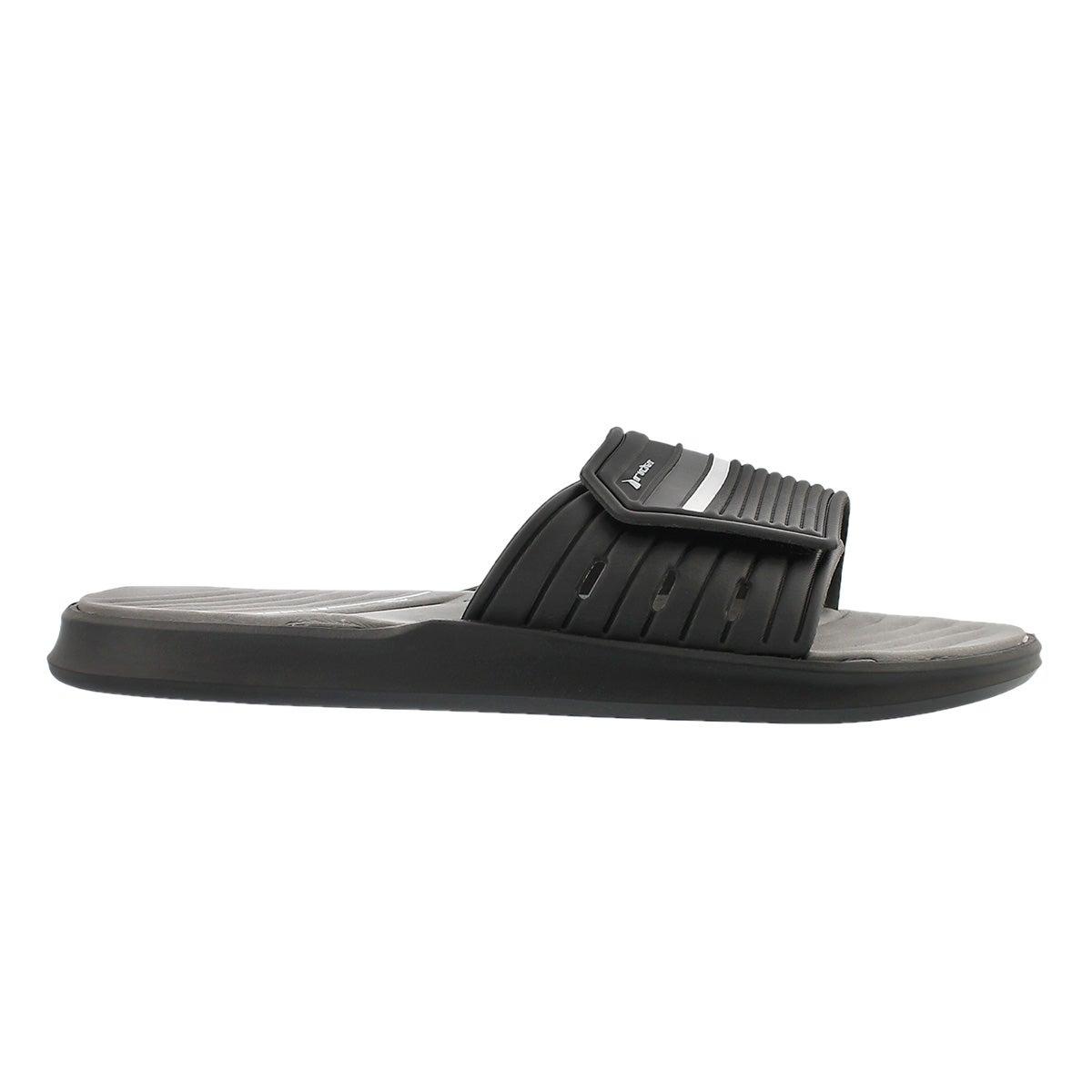 Sandale sport Rail, noir/gris, hommes
