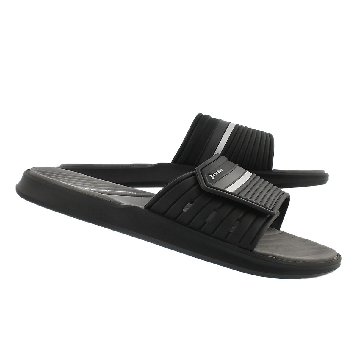 Mns Rail black/grey slide sport sandal