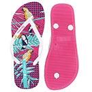 Lds Paraiso pnk/wht printed flip flop