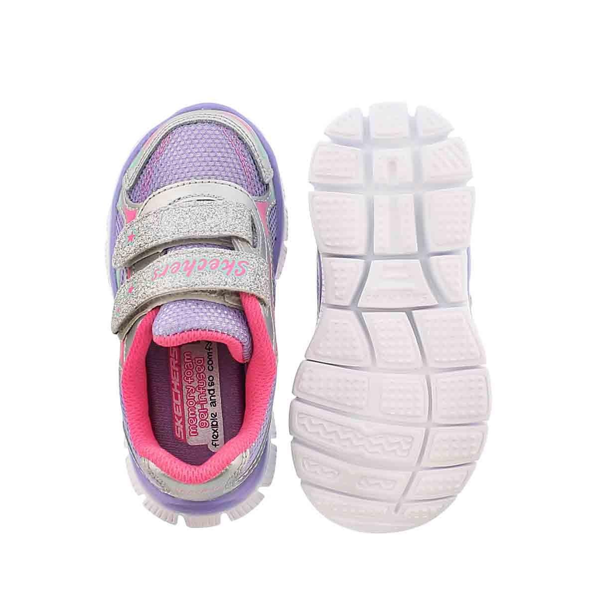 Inf Skech Appeal silver/ppl/pnk sneaker