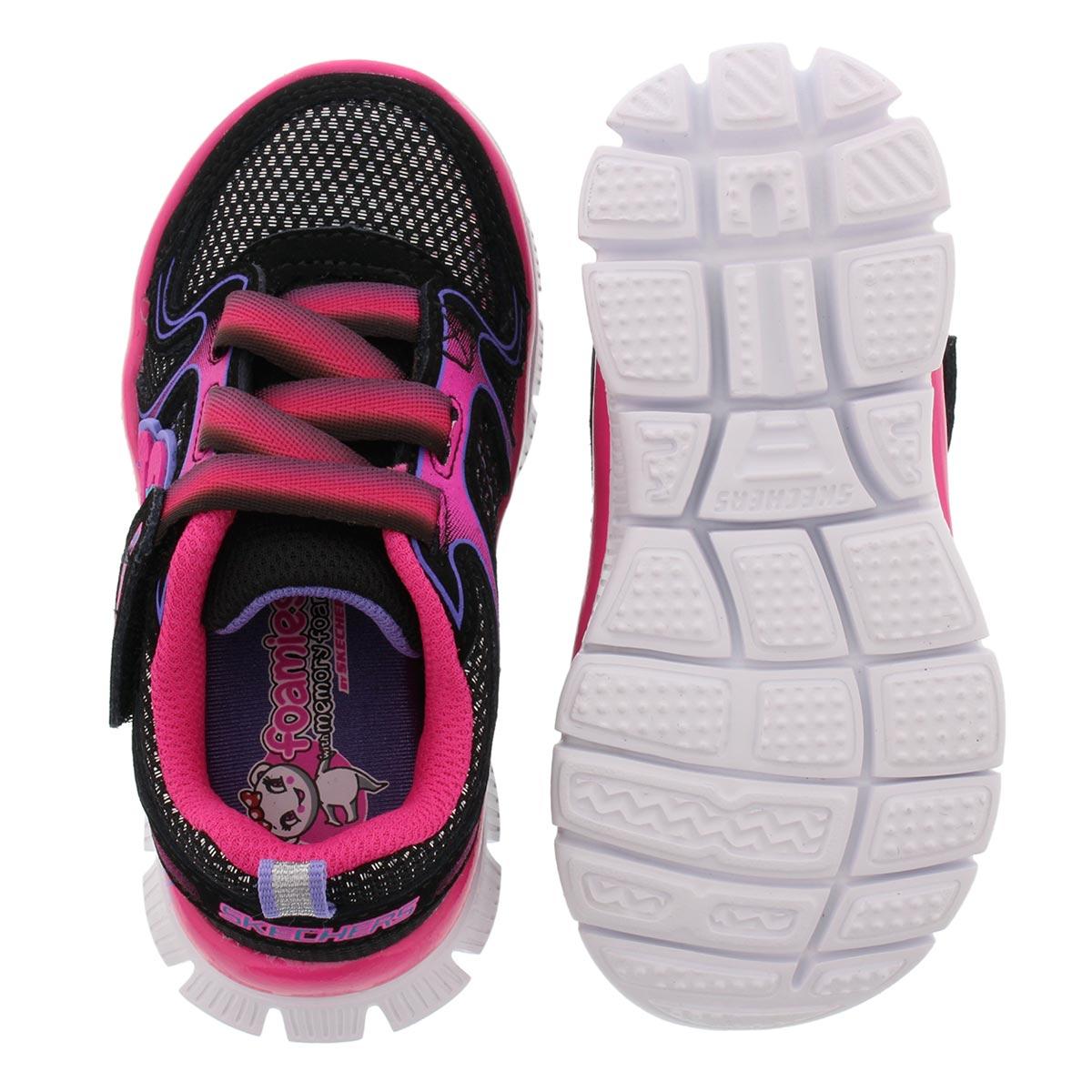 Inf Skech Appeal blk/pnk sneaker